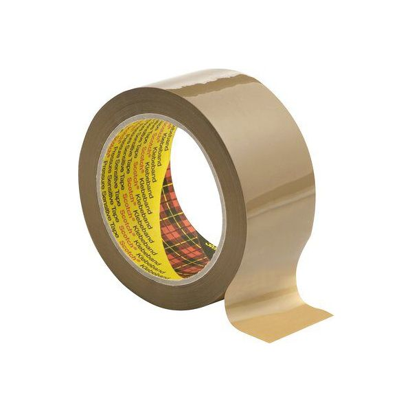 3M 3707 SCOTCH TAPE POLYPROPYLENE (50MMx 66 MTR)