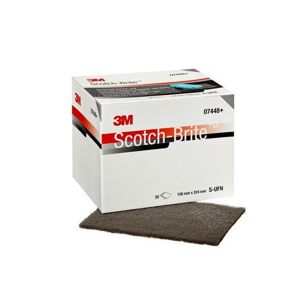 3M SCOTCH BRITE CF-SH HANDPAD X07448 S (60x)