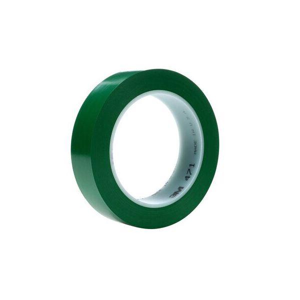 3M 471 SCOTCH PLASTIC TAPE GREEN (72x 12MM x 33MTR)