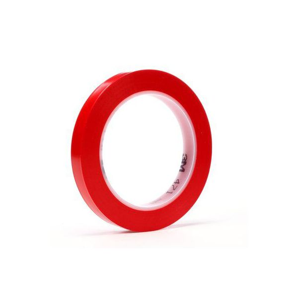 3M 471 SCOTCH PLASTIC TAPE RED (96x 9MM x 33MTR)