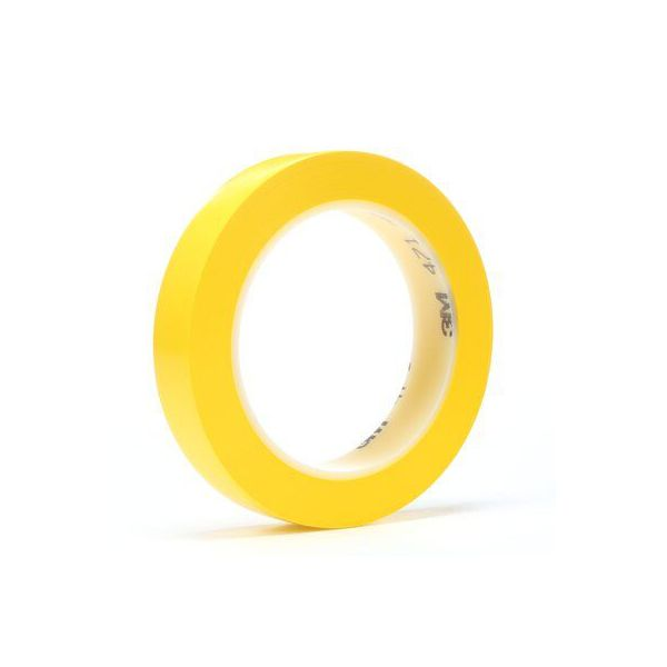 3M 471 SCOTCH PLASTIC TAPE YELLOW (96x 9MMx 33MTR)