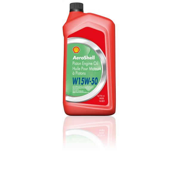 AeroShell Piston Engine Oil W15 W50 (1 QT)