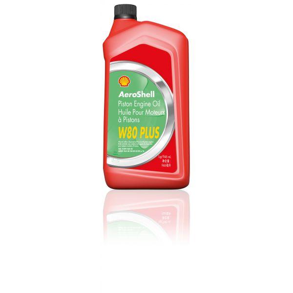AeroShell Oil W 80 Plus (1 QT)
